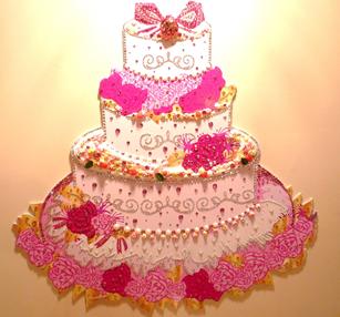 303ウェディングケーキ